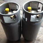 8 Gallon Steel LP Tanks