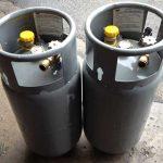 8 Gallon Steel LP Tanks